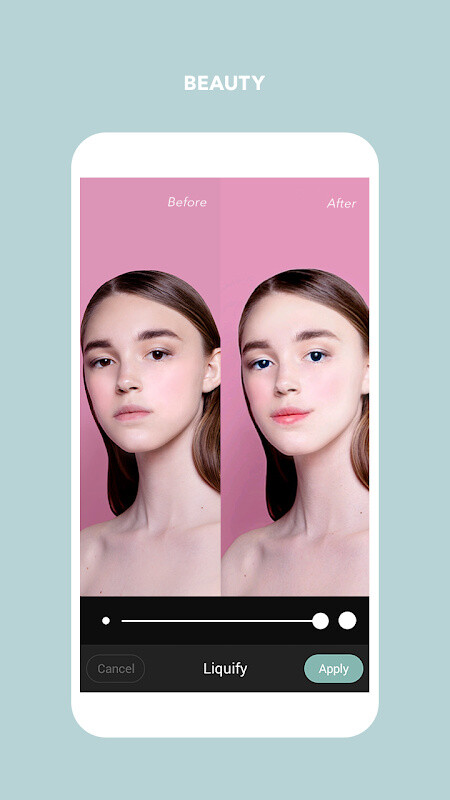Cymera Photo  Beauty Editor Free Samsung Galaxy Y Duos