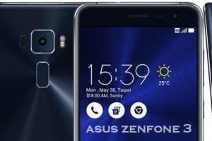 Black Asus Zenfone 3 Smartphone