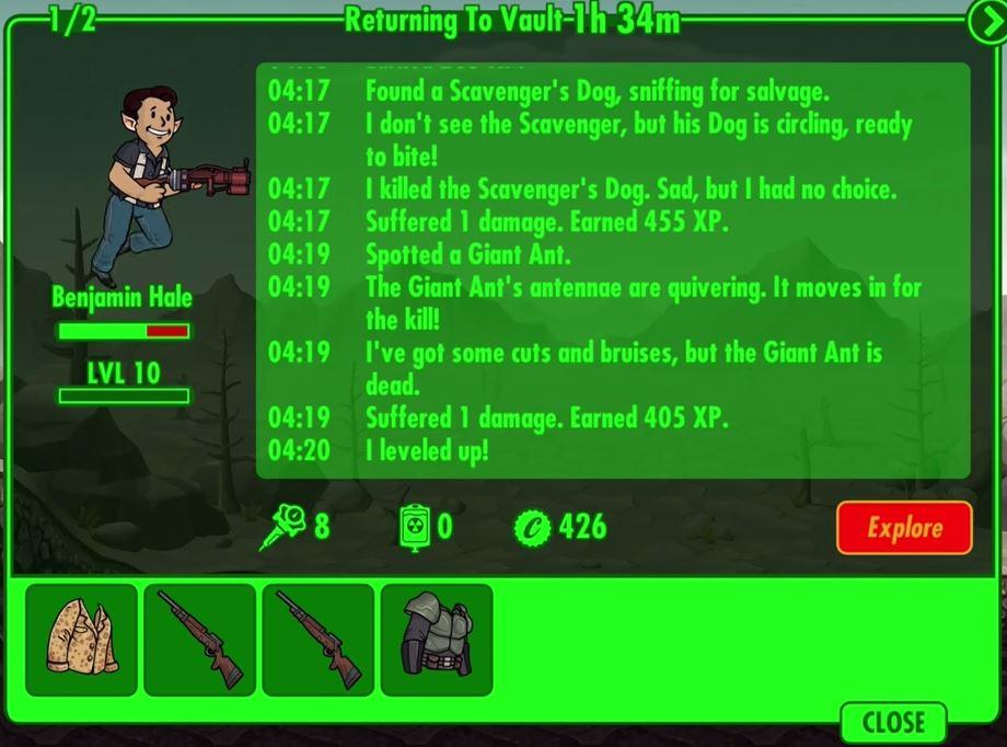 Fallout Shelter FAQ  
