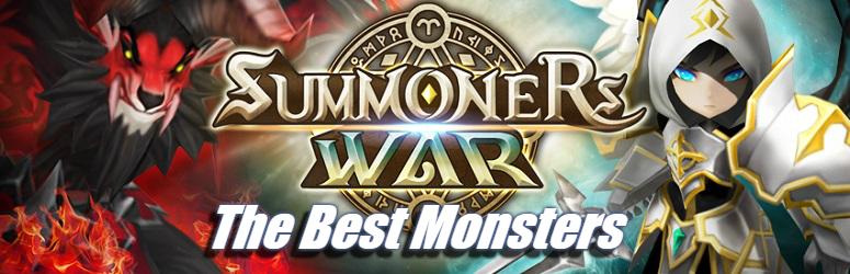 Best Monsters - Summoners War