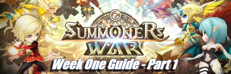 Summoners War - Week One Guide Part 1
