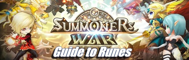 Guide to Runes - Summoners War