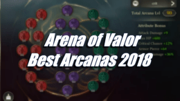 Best Arcanas 2018 – Arena of Valor
