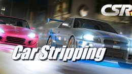 Car Stripping in CSR Racing 2