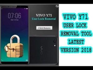 Vivo User Lock Remove Tool
