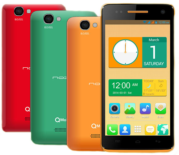 Qmobile i9 MT6582 Android 4.4.2 Firmware Flash File