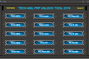 Tech Anil FRP Unlock Tool 2018