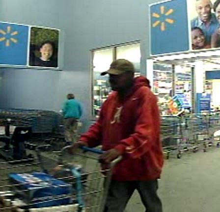 THIEVES AT SEMMES WALMART CAUGHT ON CAMERA
