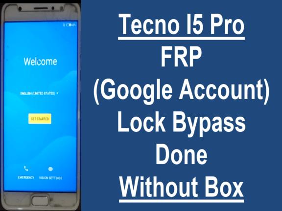 Tecno I5 Pro Frp Lock Remove Done   Mobile Solution Point