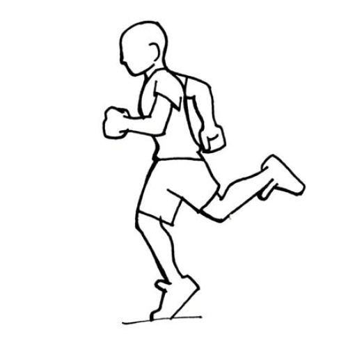 Courir rapidement: Sprint de 60m (niveaux ABC