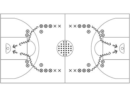 Basketball à l'école