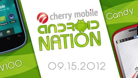 Cherry Mobile W100 and Candy TV Promo Graphic