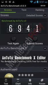 Cherry Mobile Blaze Antutu Benchmark results