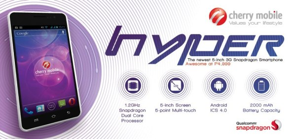 Cherry Mobile Hyper Official Promo Graphic