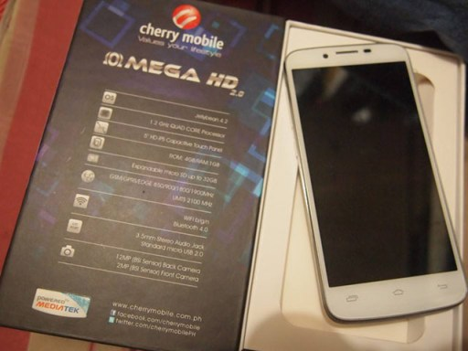 Cherry Mobile Omega HD 2.0 Box Specs