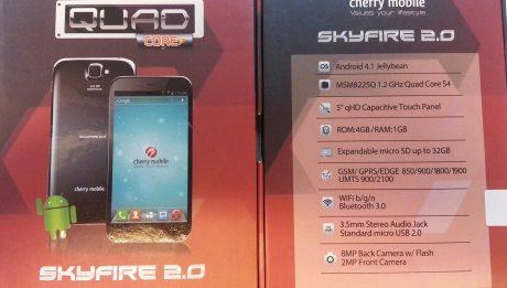 Cherry Mobile Skyfire 2.0 Box