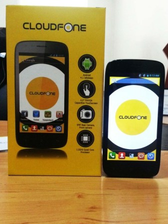 Cloudfone Excite 450q with Box