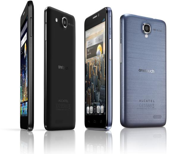 Alcatel One Touch Idol X Slate Black