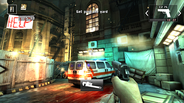Dead Trigger 2 Screenshot Particle Effects