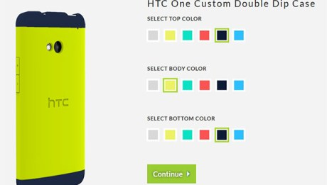 HTC One Double Dip Case