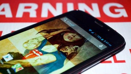 Screen Closeup