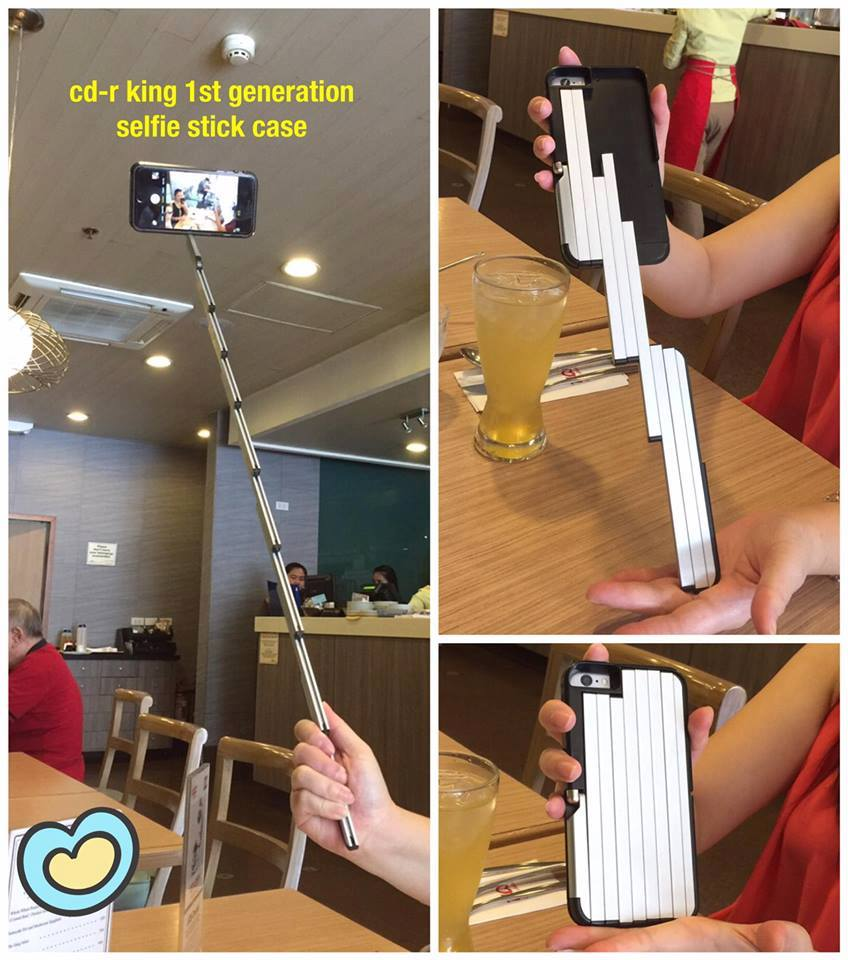 cdr king iphone cases with built in monopod are trying to become a thing mobiletechpinoy. Black Bedroom Furniture Sets. Home Design Ideas