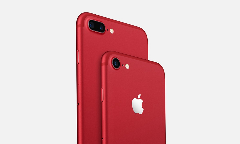 Apple iPhone 7 and iPhone 7 Plus Red Limited Edition