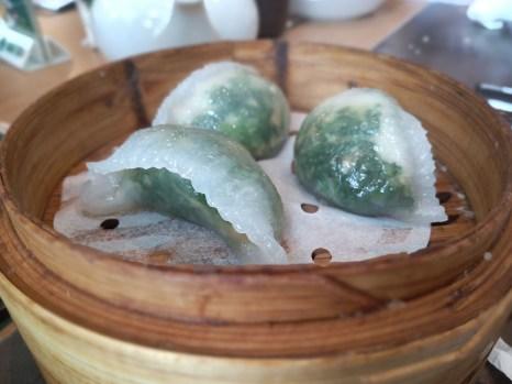Spinach Dumpling