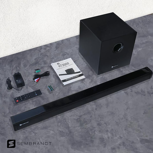 Sembrandt HT3000 2.1 Soundbar with Subwoofer Announced