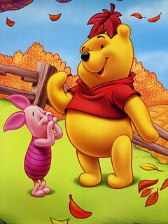 Winnie The Pooh Fall Wallpaper Download Pooh Mobile Wallpaper Mobile Toones