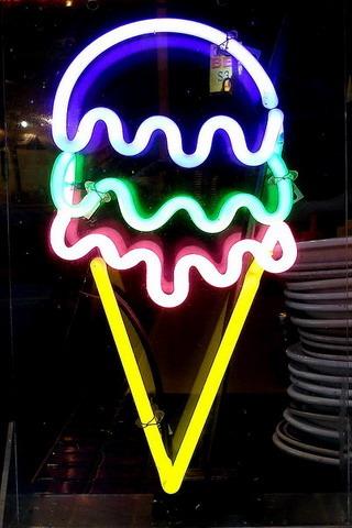 Hd Wallpaper Apk Free Download Download Ice Cream Neon Light Iphone Wallpaper Mobile