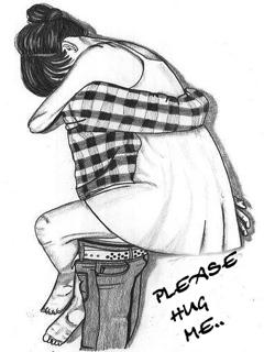 Cute And Sad Girl Wallpaper Download Please Hug Me Mobile Wallpaper Mobile Toones