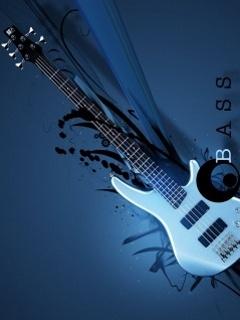 Electric Guitar Wallpaper Hd Download Bass Guitar Mobile Wallpaper Mobile Toones