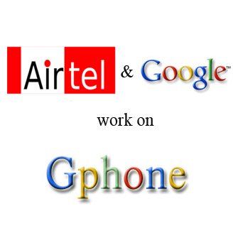 Airtel and Google logo