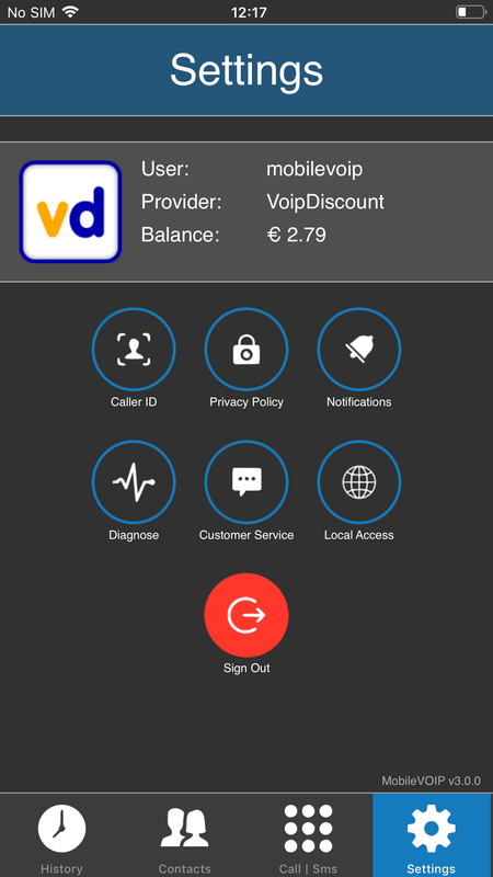 MobileVoip  Mobile Voip app for iPhone Android and Symbian