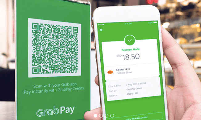 Grab Pay. Image: Mobile World Live