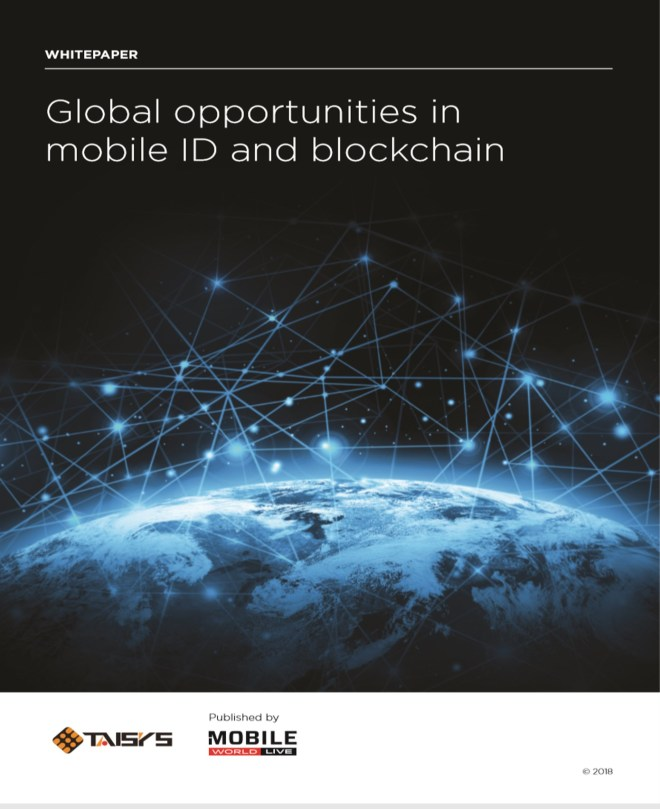 Global opportunities in mobile ID and blockchain