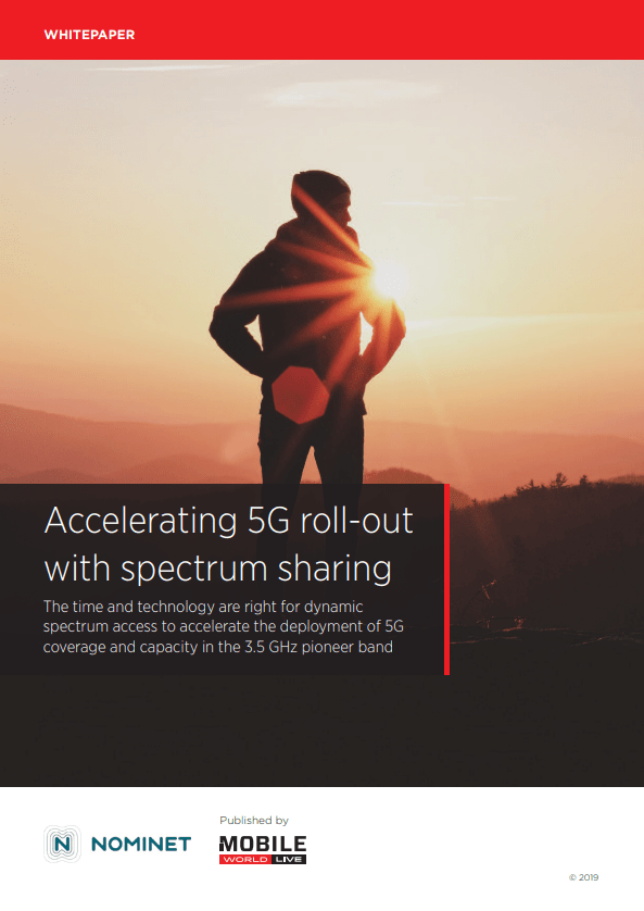 Accelerating 5G roll-out with spectrum sharing