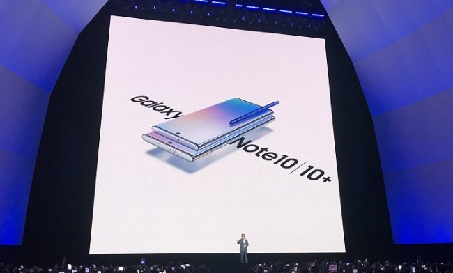Samsung goes big with Galaxy Note 10