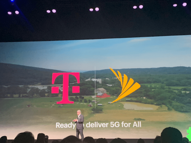 Sprint pushes T-Mobile deal as lawsuit looms