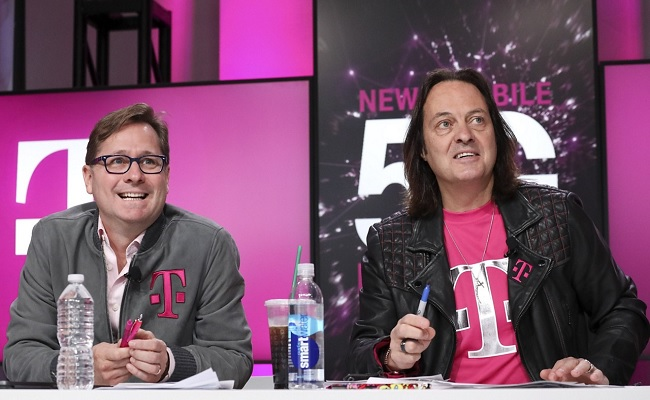 T-Mobile CEO Legere heads for the door