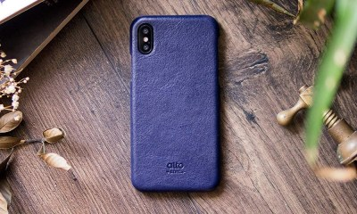 Alto Handmade Premium Italian Leather Case for iPhone X and XS