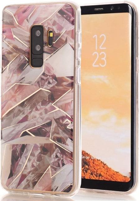SPEVERT Marble Pattern Galaxy S9 Plus Case