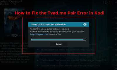 How to Fix the Tvad.me Pair Error in Kodi