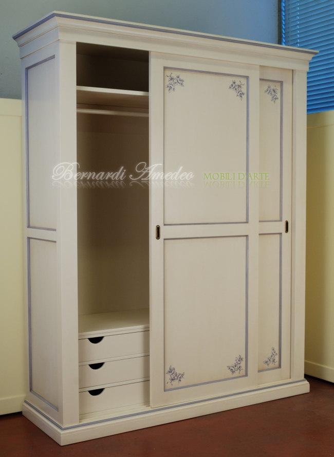 Cameretta laccata avorio con decori  Camere complete