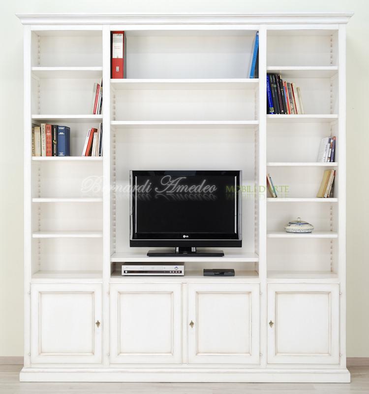 Libreria con porta Tv  Librerie