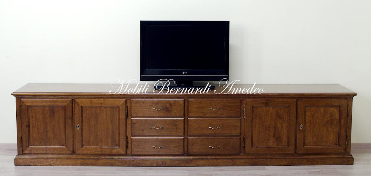 Mobili Tv in legno massello 5  Porta TV