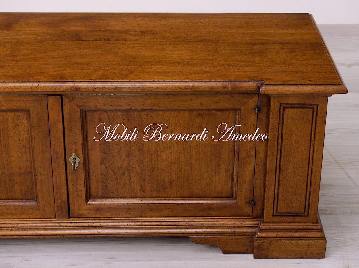 Porta Tv noce massello  Porta TV