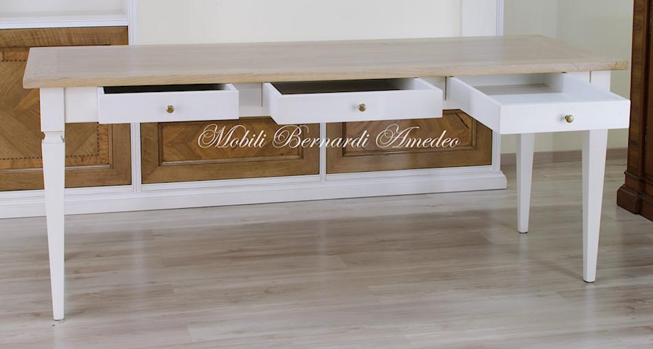 Tavoli scrittoi in legno massello  Tavoli