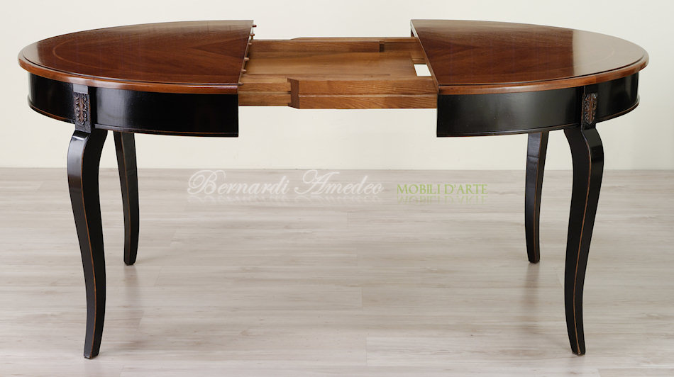 Tavoli rotondi e ovali allungabili 3  Tavoli